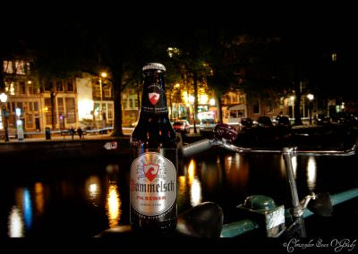Dommelsch Pilsener, consumed in Amsterdam.