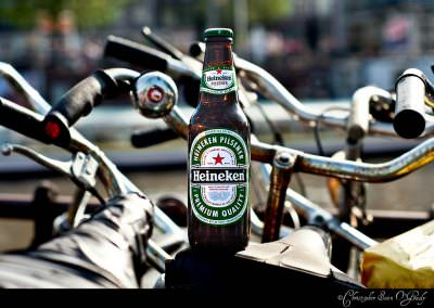 Heineken consumed in Amsterdam