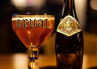 Orval consumed in Bruges, Belgium.