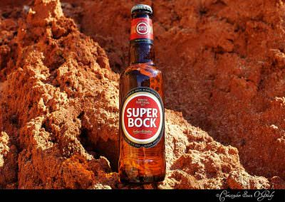 Super Bock consumed in the Algarve, Portugal.