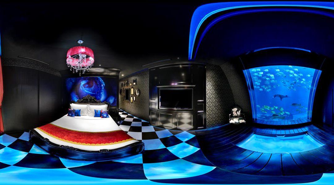 360 Virtual Tour of the Ocean Suite at Equarius Hotel in Singapore