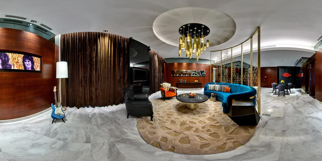 360 Virtual Tour at the Hard Rock Hotel Rock Star Suite in Singapore