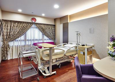 interior photography kk womens and childrens hospital ward a