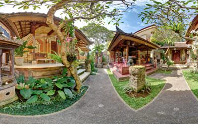 360 Virtual Tour for Teja Homestay Hotel in Ubud, Bali